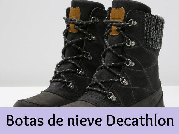 Botas de nieve 2botas Decathlon La protección máxima en Invierno 2botas nieve 1bd1cf