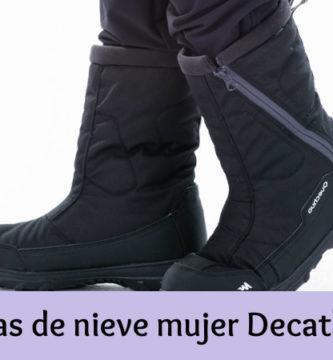 Botas de nieve mujer Decathlon