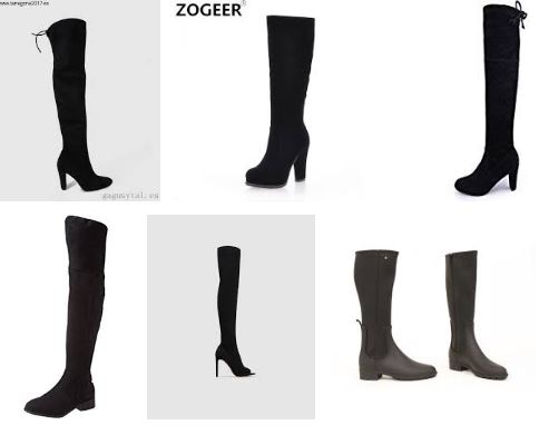 Guia de compra para botas altas negras mujer 00fb4ea639608