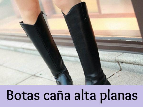 18879e0d0dfdd Botas caña alta planas - Las ideales de otoño - invierno - 2botas.com