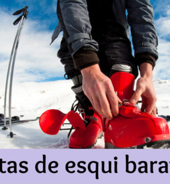 Botas de esqui baratas