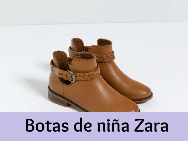 a40e1fab0 Botas de niña Zara - Calidad y comodidad - 2botas.com