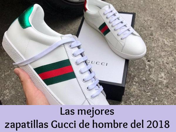 Zapatillas Gucci hombre - Personalidad y estilo a vuestros pies - 2botas 460395268d2