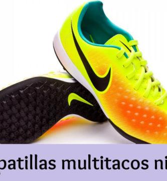 Zapatillas multitacos niño