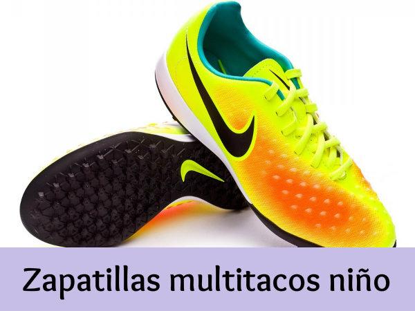 Zapatillas multitacos para niños - Tu mejor opción en calzado deportivo cc72359a87b94