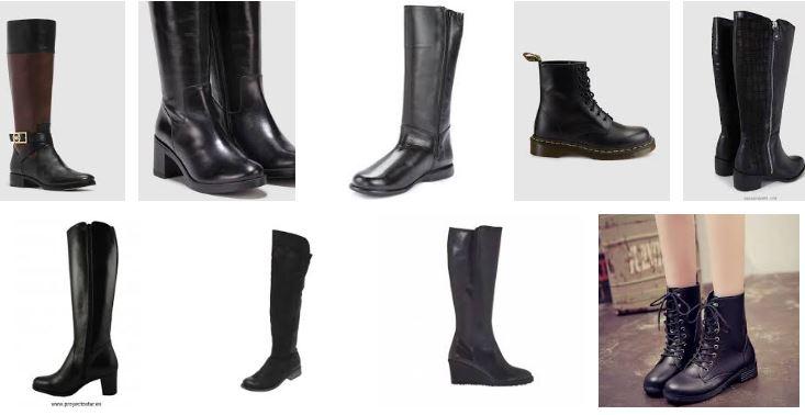 5cfbbd155e0 Botas negras piel - Preciosas botas para mujer - 2botas.com