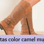 Botas color camel mujer