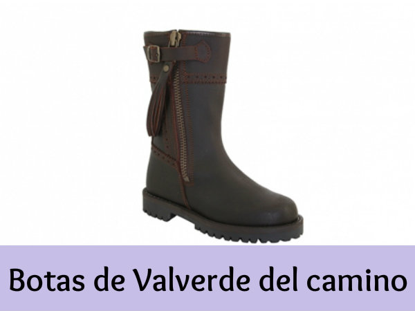 100 Botas Y Valverde De Camino Piel Comodidad Del WnI64Rq