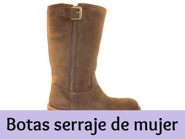 nueva productos calientes ahorrar descuento de venta caliente Botas serraje de mujer - Comodidad ante todo - 2botas.com