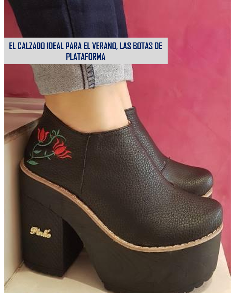 33b8cf402 Botas de Plataforma  lo último en calzado de moda para un look ...